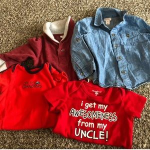 Boys 18 Month Shirts Mixed Lot